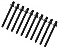 Black tension rods