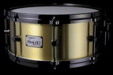 Canopus metal snare drum