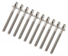 Chrome tension rods