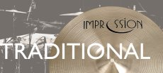 Impression cymbals Traditional series
