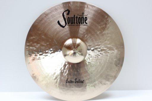 Soultone Cymbals CBR-CRR23-23 Custom Brilliant Crash Ride