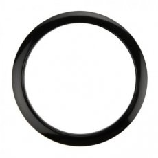Bass drum O Black 4""