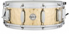 Gretsch full range hammered brass snare drum
