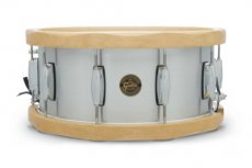 Gretsch full range wood hoop aluminium snare drum