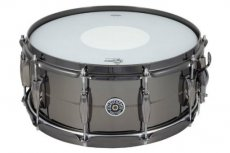 "Gretsch USA Brooklyn black nickel / brass 14""x6,5"" snare"