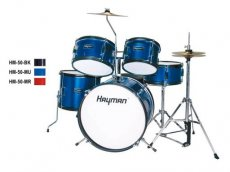 Hayman junior series 5pc drum kit for kids HM-50