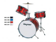 Hayman junior series drum kit for kids HM-33
