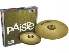 "Paiste 101 Brass prepack essential set 13"" - 18"""