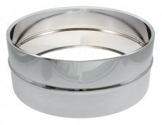 Steel chrome plated snare drum shell 14x5,5